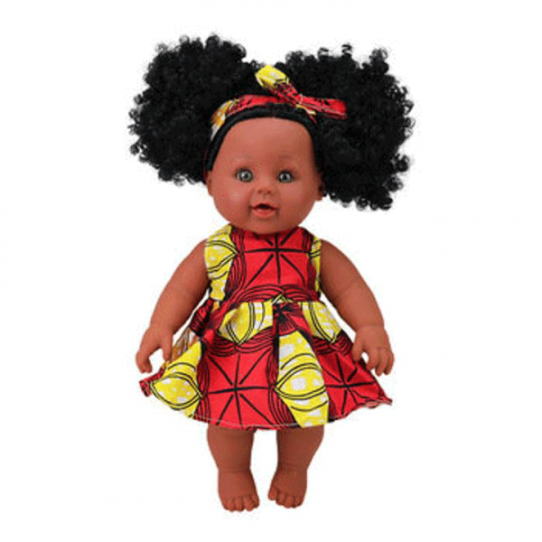 Adorable African American Baby Doll Shade