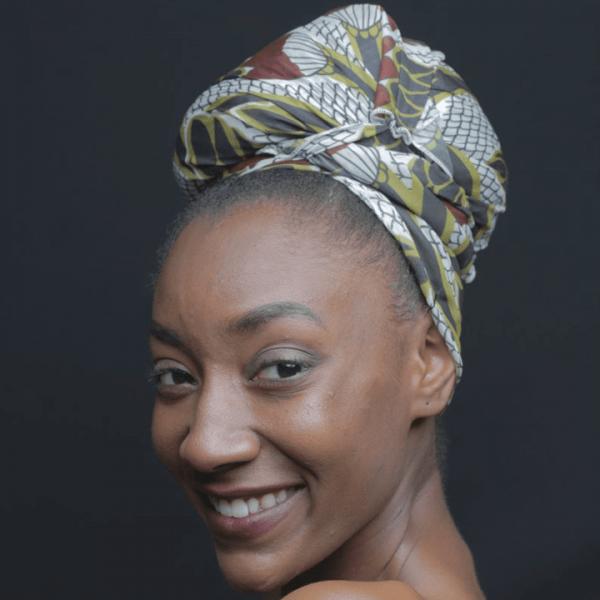 Ancestry Scarf With Nigerian Ankara Print