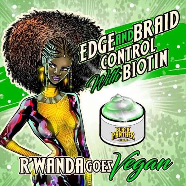 Vegan With Biotin Edge & Braid Controller